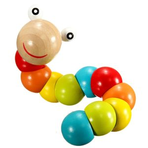 Colorful-Insects-Twist-Caterpillars-Children-Kids-Educational-Wooden-Toys-Train-Baby-Fingers-Flexible-Puzzle