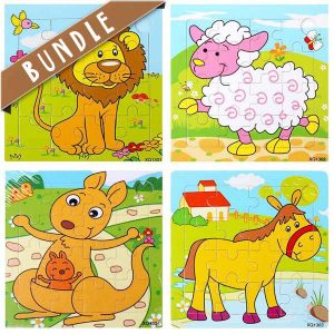 Shop online for fun animal wooden jigsaw puzzle for kids
