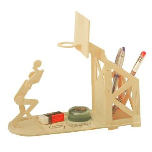 DIY Model Craft Kit – Basketball Pen Holder