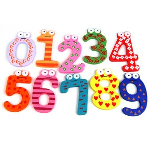 10pc Fridge Magnets Set (Numbers)
