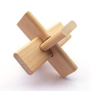 Shop: Traditional Wooden Kong Ming Lock Puzzle