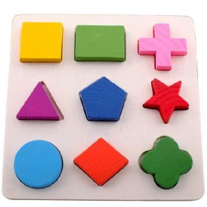 Early Learning Wooden Shape Sorter