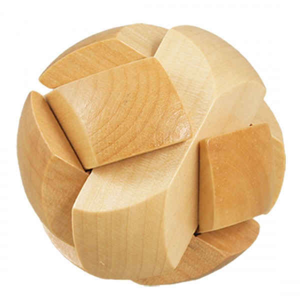 Wooden Ball Lock Puzzle
