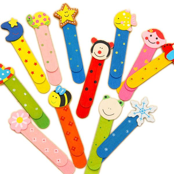 Cute wooden animal bookmark ruler: Shop for wooden stationery