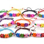 Shop online for wood bead braided rope bracelet wristband, wooden fashion accessories