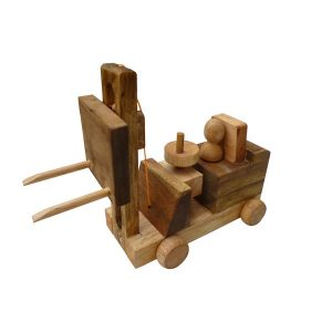 QToys Wooden Forklift