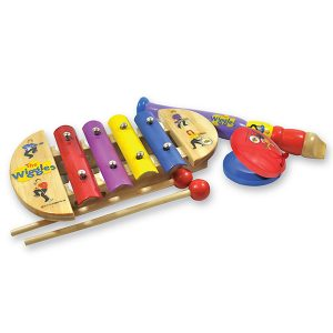 'The Wiggles' Mini Music Set